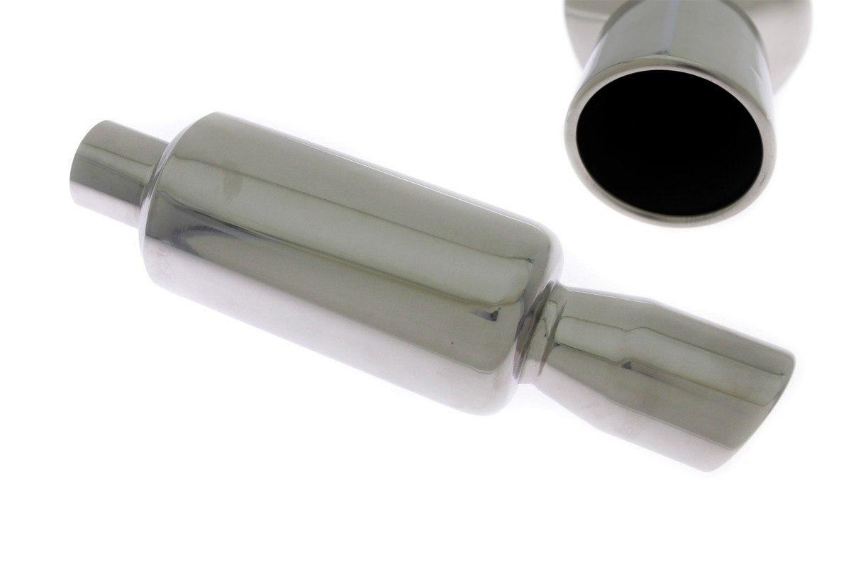 Tłumik Końcowy TurboWorks 76mm wejście 57mm - GRUBYGARAGE - Sklep Tuningowy